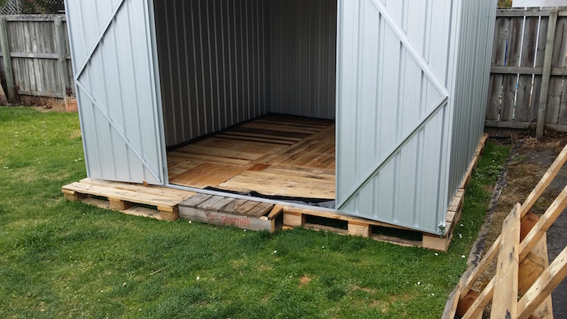 A FREE Garden Shed Floor!